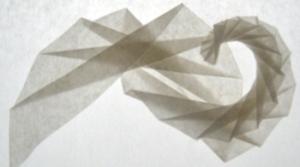 Folded Spirals - Gefaltete Spiralen