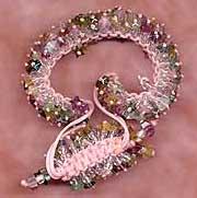 Beaded Macramé Bracelet